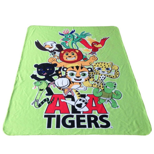 ATA Tigers Fleece Blanket