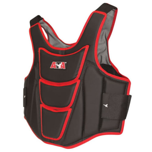 Pullover Chest Protector with Elastic Shoulder